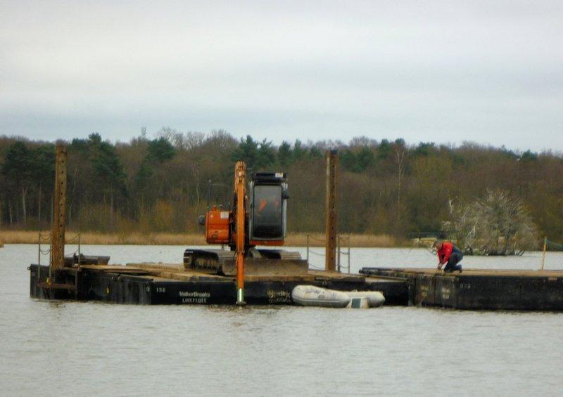 Feb 12 - On the pond