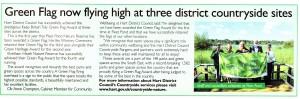Hart News Autumn 2015 green flags